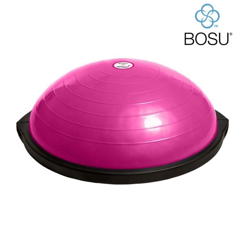 Růžová balanční podložka BOSU
