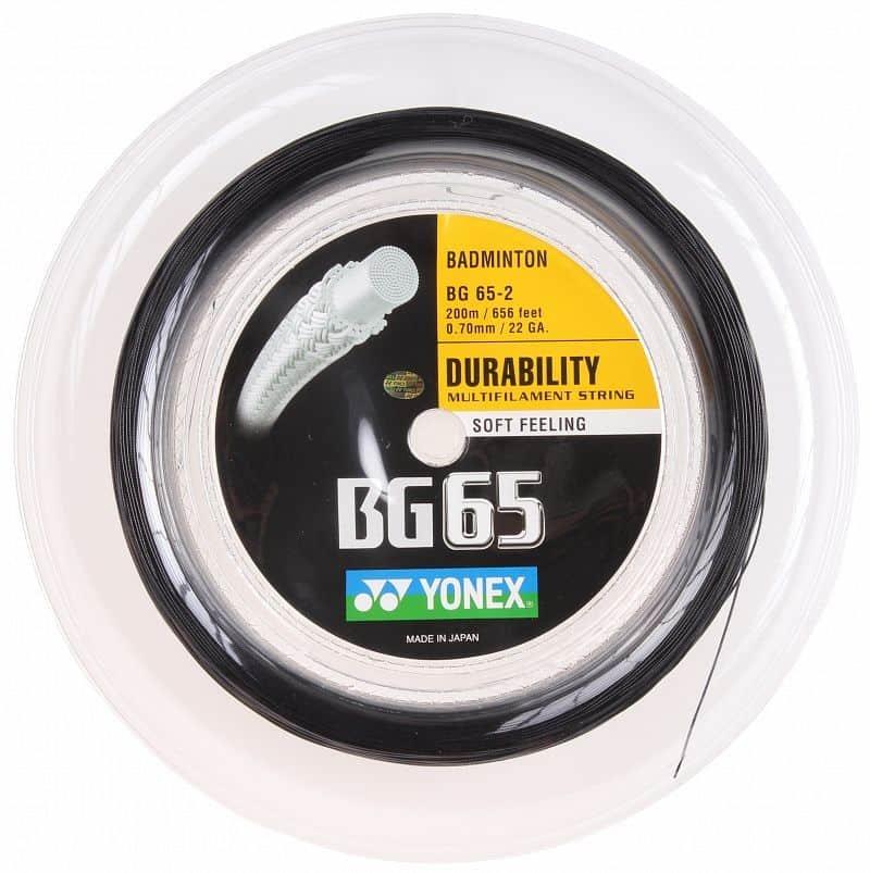 Badmintonový výplet BG 65, Yonex - průměr 0,7 mm