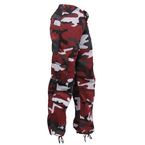 Kalhoty - Kalhoty dámské PARATROOPER RED CAMO