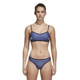 Modré dvoudílné dámské plavky Adidas - velikost 34