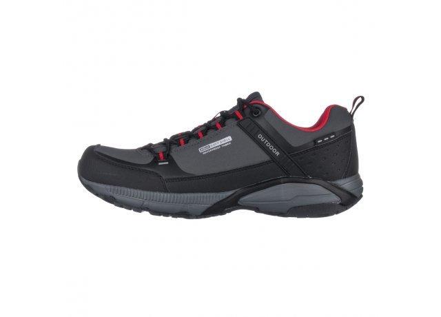 Šedé pánské trekové boty - obuv EFFE TRE