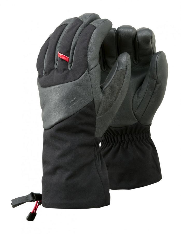 Černo-šedé pánské snowboardové rukavice Mountain Equipment