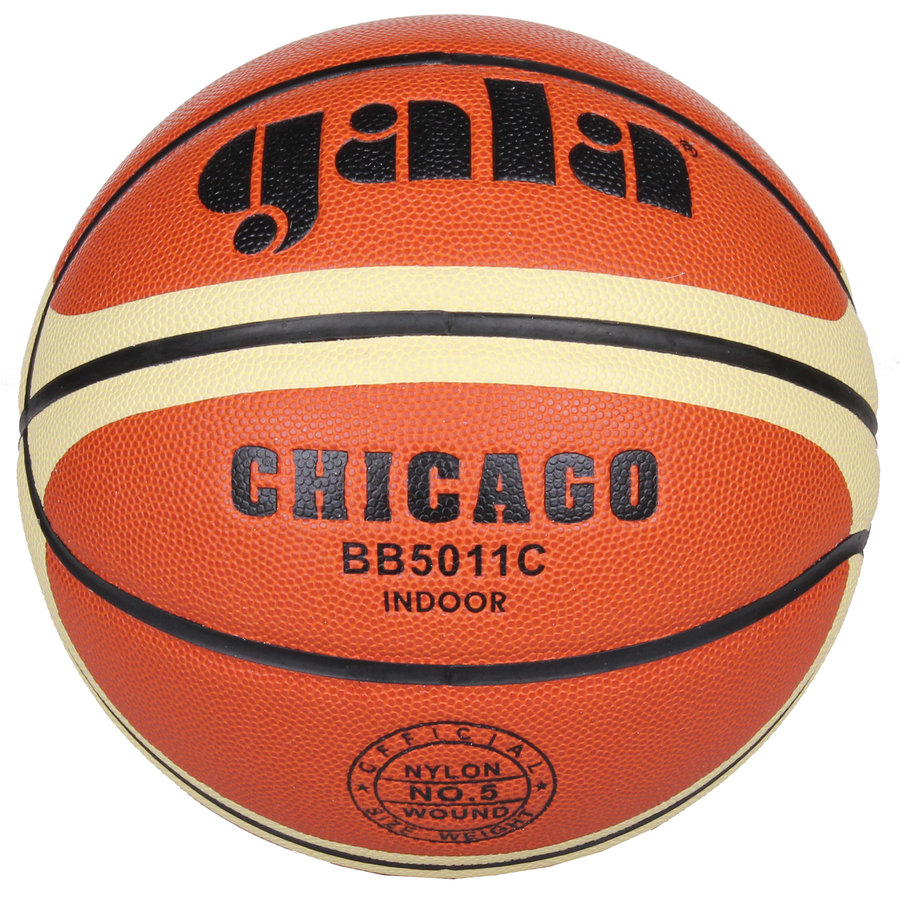 Oranžový basketbalový míč Chicago, Gala - velikost 5