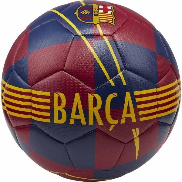 Červeno-modrý fotbalový míč Nike