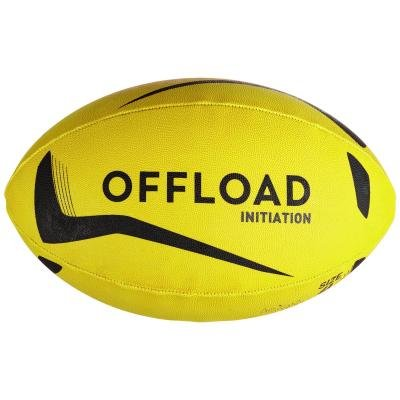 Žlutý míč na ragby R100, Offload - velikost 3