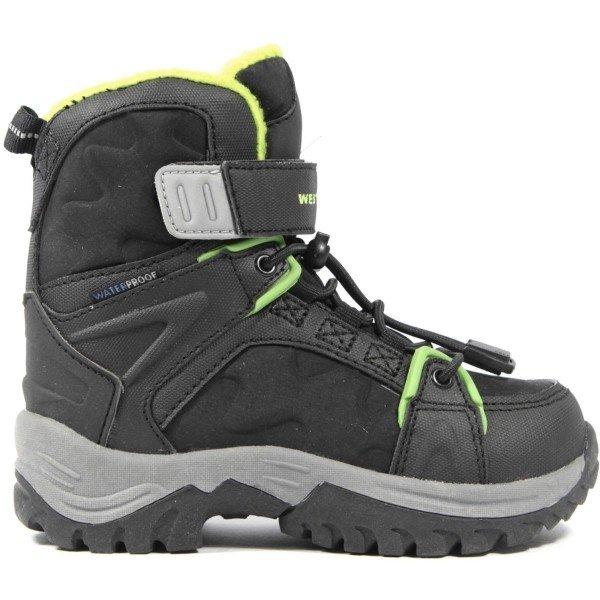 Černé chlapecké zimní boty Westport - velikost 36 EU