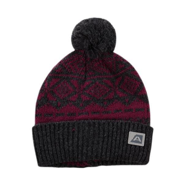 Růžová zimní čepice Alpine Pro