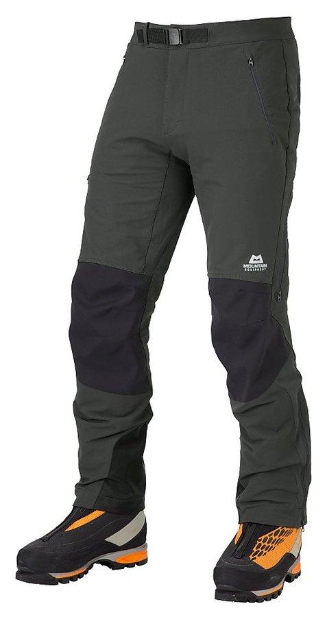 Černé softshellové pánské turistické kalhoty Mountain Equipment