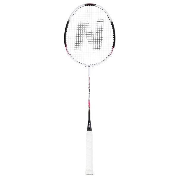 Bílá raketa na badminton Nils - délka 66 cm