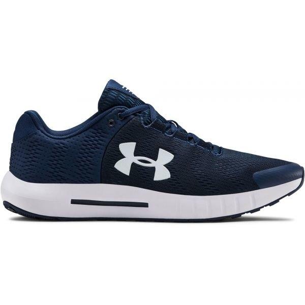 Modré pánské běžecké boty Under Armour