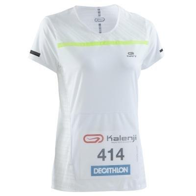 Bílé dámské běžecké tričko Kiprun