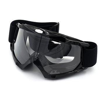 Motorkářské brýle - M-Style Motokrosové brýle čiré(3001-MS-HB156WH)