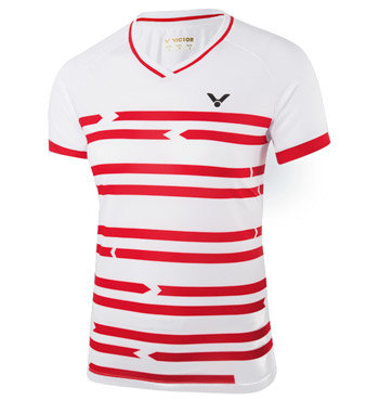 Bílé dámské funkční tričko s krátkým rukávem Victor
