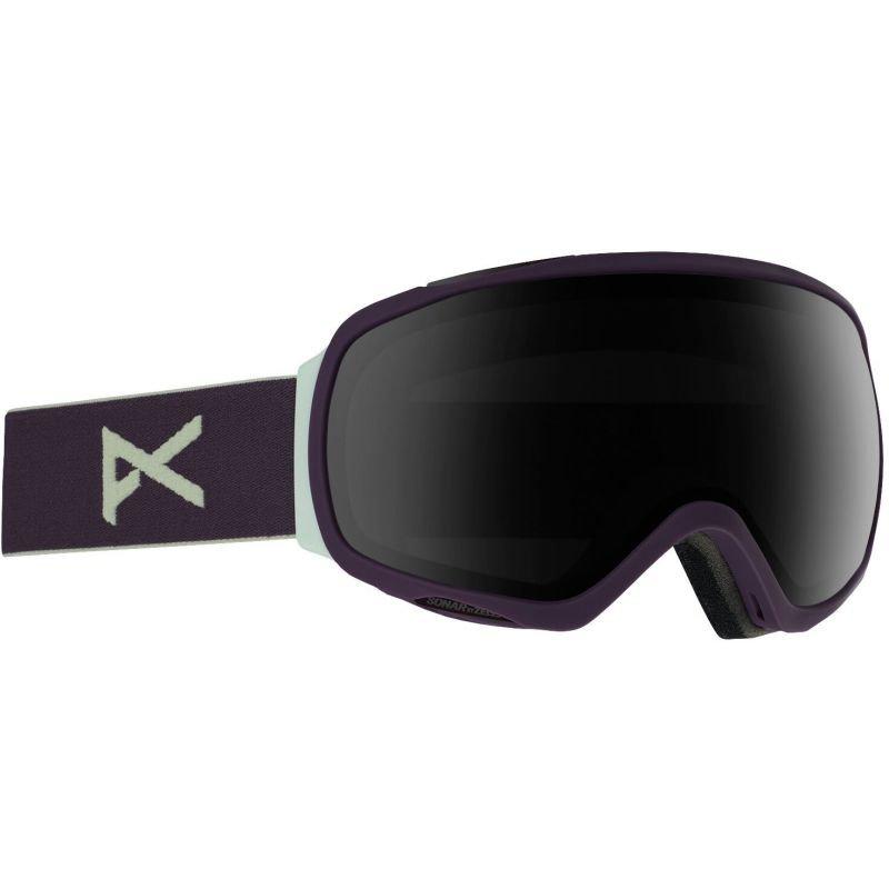 Fialové brýle na snowboard Anon