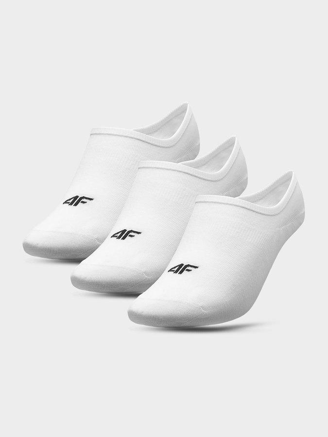 Bílé dámské ponožky 4F - velikost 35-38 EU