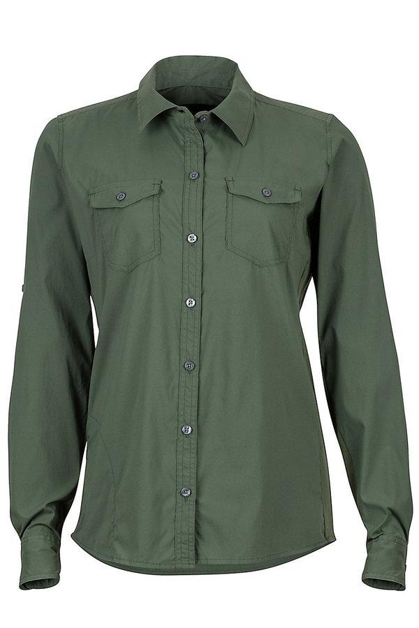 Zelená dámská košile Marmot - velikost S