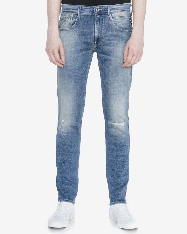 Modré pánské džíny Replay - velikost 33