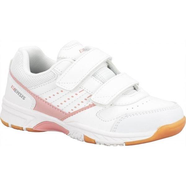 Bílá dívčí sálová obuv Kensis