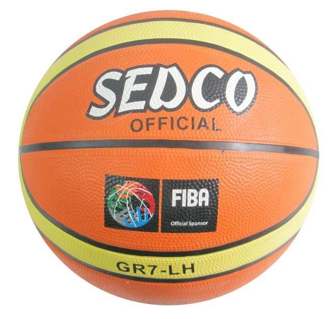 Oranžový basketbalový míč Orange Super, Sedco - velikost 7