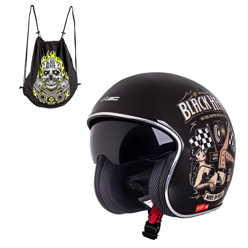 Helma na motorku V537, W-TEC