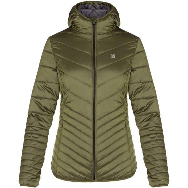 Zelená zimní dámská bunda Loap