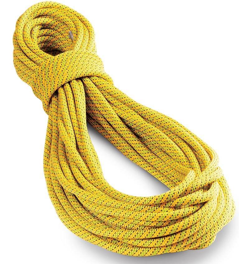 Zeleno-žluté horolezecké lano Tendon (Lanex) - průměr 9,8 mm