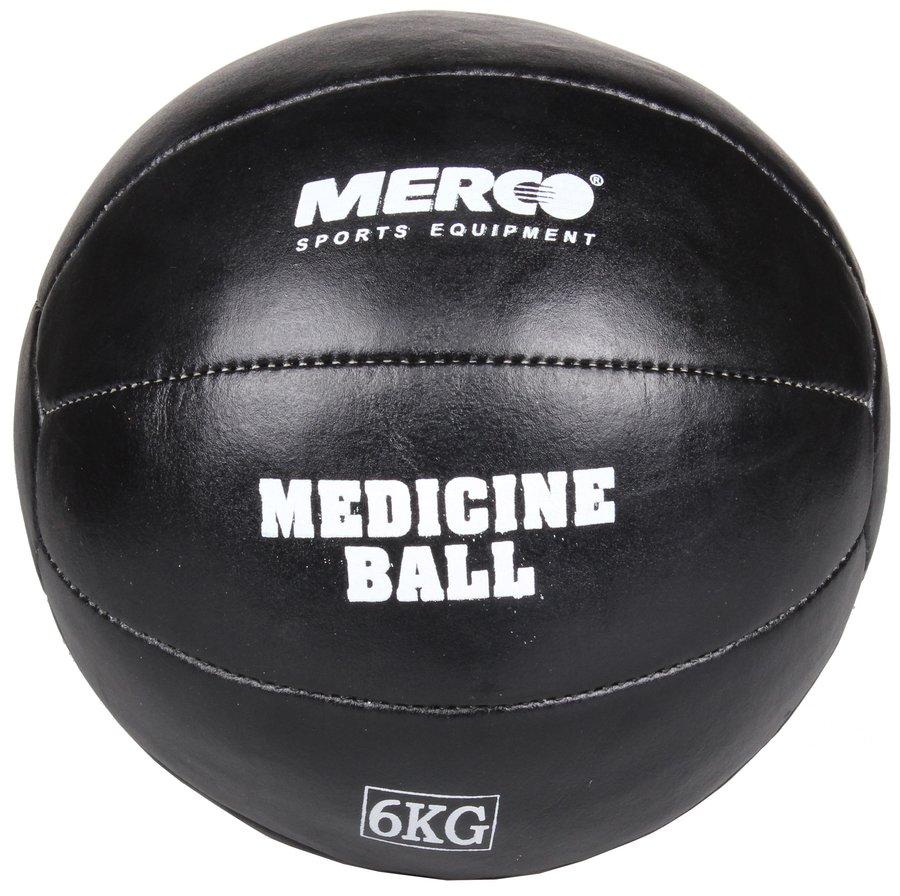 Medicinbal bez úchopů Leather, Merco - 3 kg