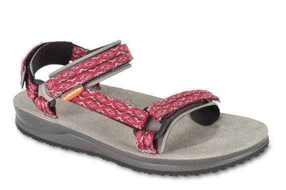 Růžové dámské sandály Lizard - velikost 41 EU