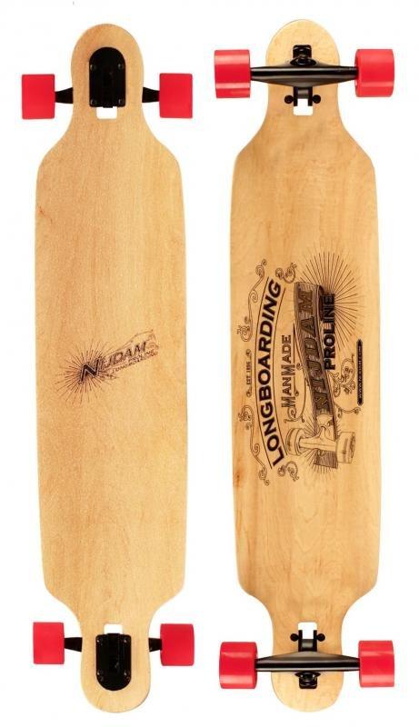 """Longboard - Longboard Nijdam Pro-line Longboard 42"""" Drop-through"""