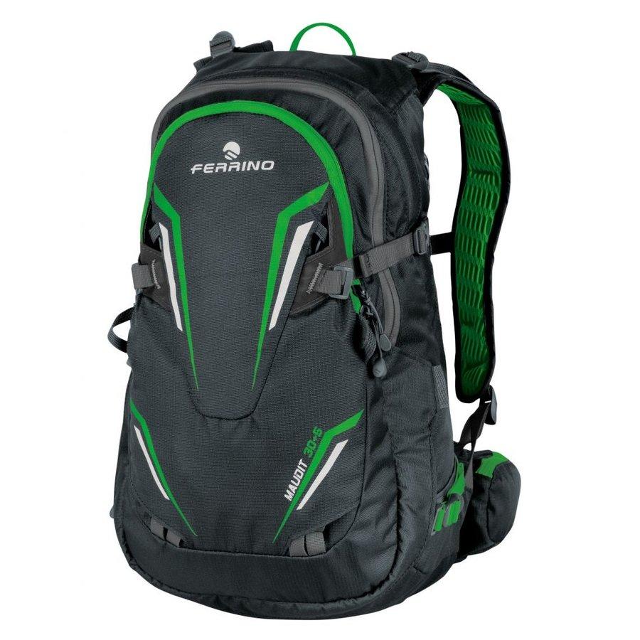 61b3faecf6 Zelený lyžařský turistický batoh Maudit