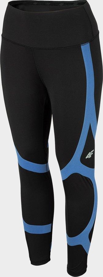 Černé dámské běžecké legíny 4F - velikost S