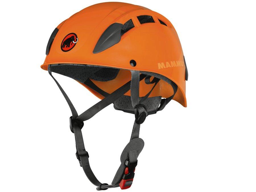 Oranžová horolezecká helma Skywalker 2, Mammut - velikost 53-61 cm