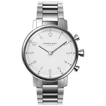 Stříbrné chytré dámské hodinky Nord, Kronaby