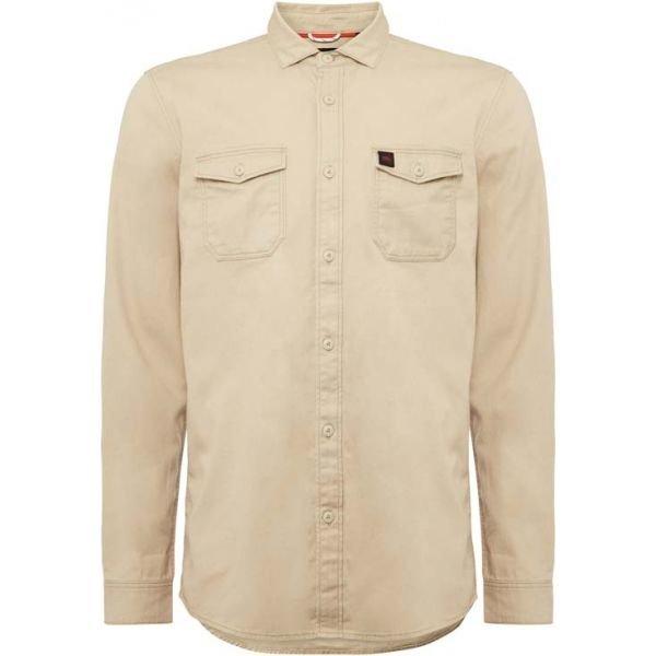 Béžová pánská košile s dlouhým rukávem O'Neill - velikost S