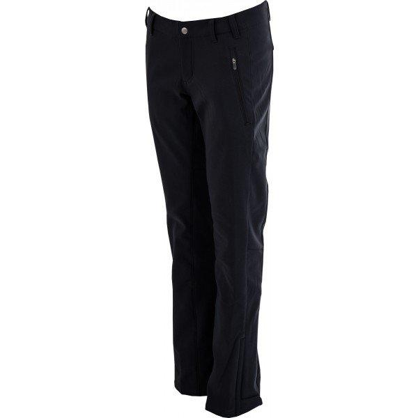 Černé softshellové dámské kalhoty Columbia