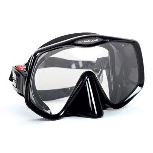 Černá potápěčská maska Frameless 2, Atomic Aquatics