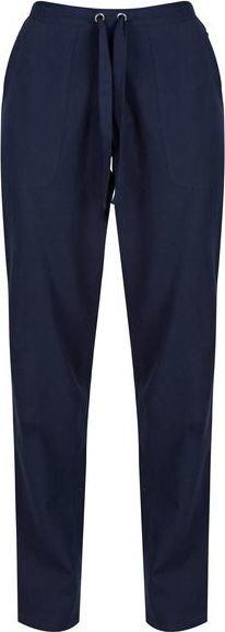 Modré dámské turistické kalhoty Regatta - velikost 34