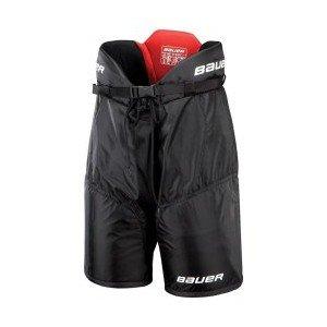 Černé hokejové kalhoty - junior Bauer - velikost M