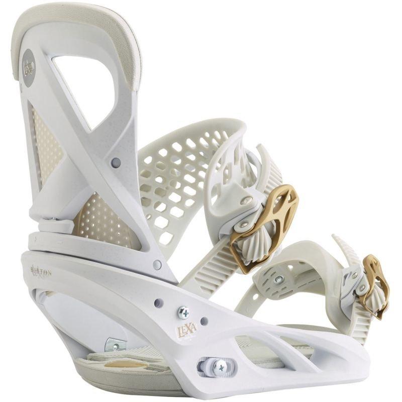 Bílé vázání na snowboard Burton - velikost L