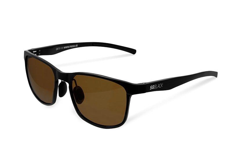 Polarizační brýle - Delphin Fotochromatické brýle SG Black hnědá skla