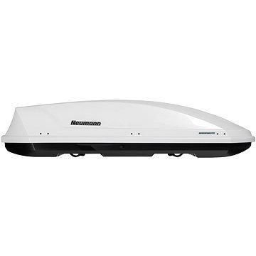 Bílý střešní box NEUMANN - délka 205 cm a šířka 84 cm