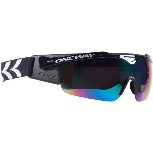 Černé brýle na běžky One Way