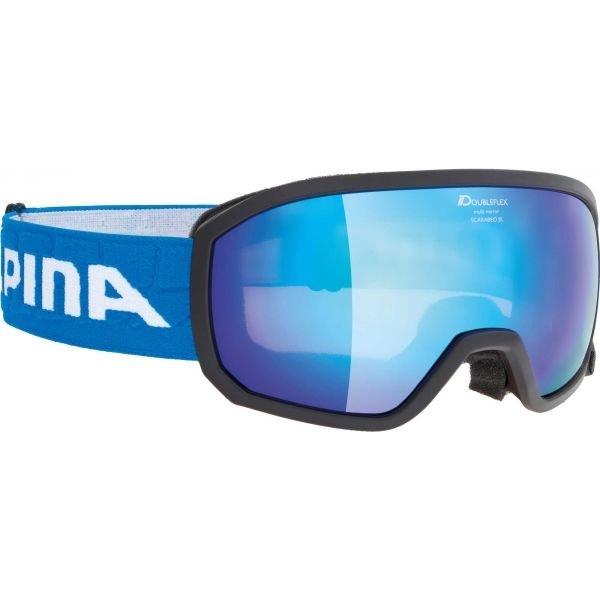 Lyžařské brýle - Alpina Sports SCARABEO JR MM černá NS - Dětské lyžařské brýle