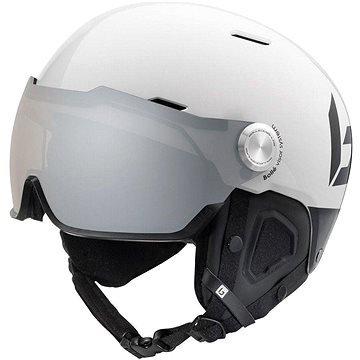 Bílá lyžařská helma Bollé - velikost 55-59 cm