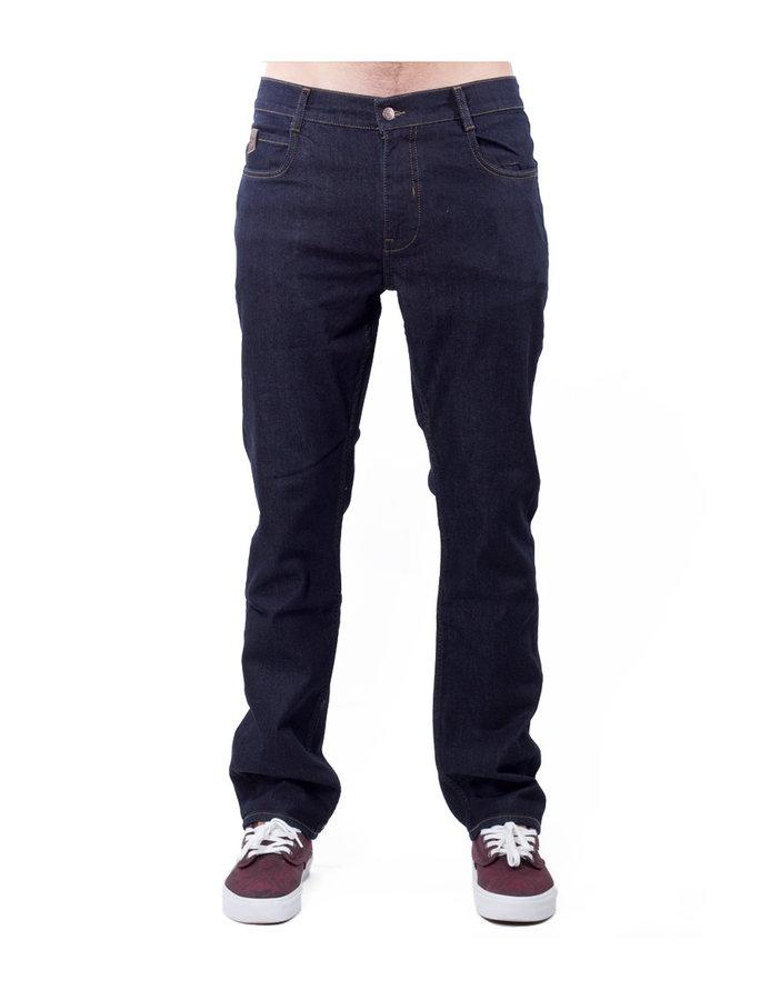 Kalhoty - MEATFLY Gauner B - Dark Blue Denim Velikost: 32