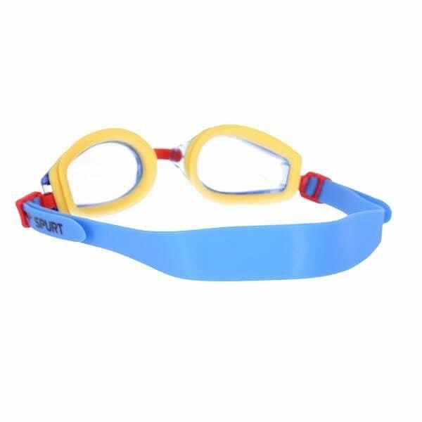 Žluté plavecké brýle J-2 AF, SPURT