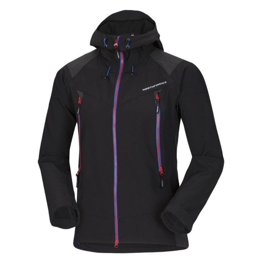 Černá pánská bunda na běžky NorthFinder