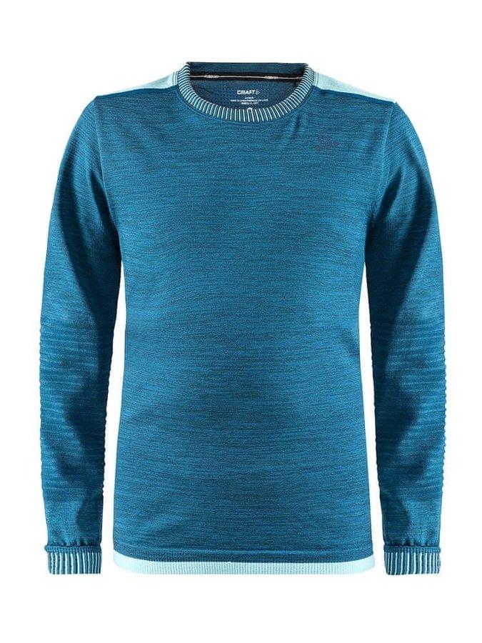 Modré dětské funkční tričko Craft - velikost 146