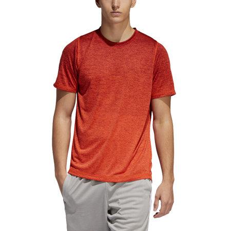 Červené pánské tričko s krátkým rukávem Adidas - velikost S