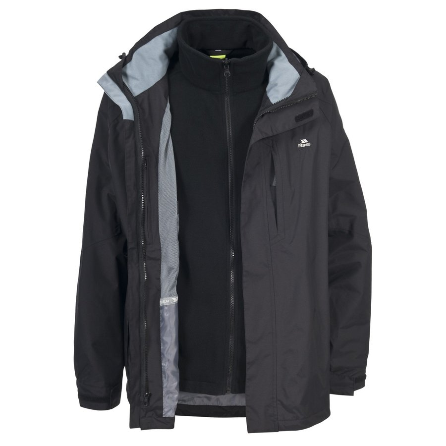 Černá pánská bunda Trespass - velikost XL